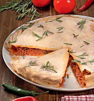 Рецепт итальянского мясного пирога