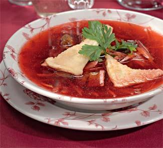 Рецепт борща старолитовского