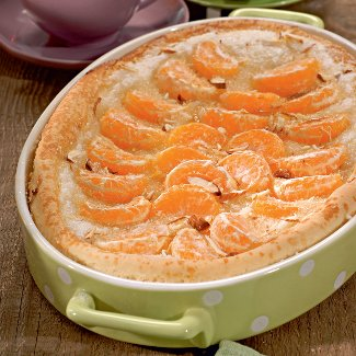 Мандариновый пирог. Рецепт с фото экзотического пирога