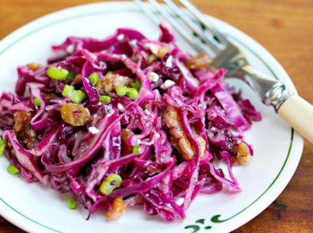 Красная капуста. Рецепты приготовления вкусных и полезных блюд из краснокочанной капусты.