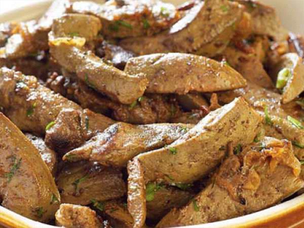 Рецепт свиной печени жареной