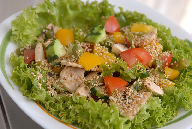 салаты с листом салата рецепты с фото