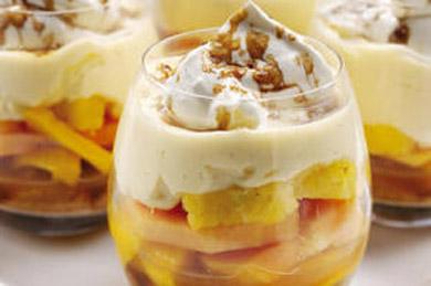 Лимонный десерт – рецепт на 14 февраля. Чудесное лакомство для романтического ужина.
