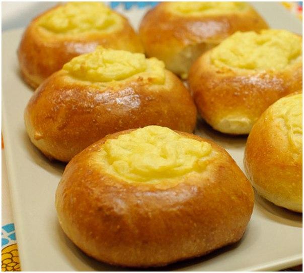Ватрушки с картошкой и сыром рецепт с фото пошагово