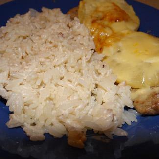 Рис с подливкой. Рецепт с фото приготовления риса