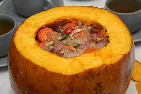 Тыква запеченная в духовке рецепты с мясом и