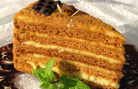 Торт «Рыжик» по Госту