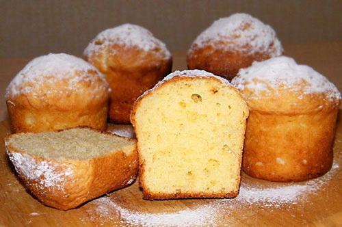 Как готовить кексы творожные