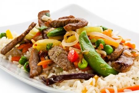 Рецепт мяса по–азиатски