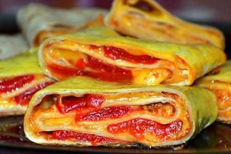 Рецепт тортильи с перцем