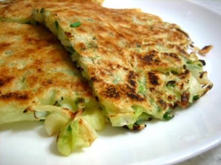 Рецепт блинчиков с кабачками