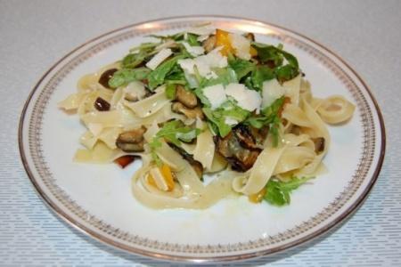 Рецепт тальятелле с овощами