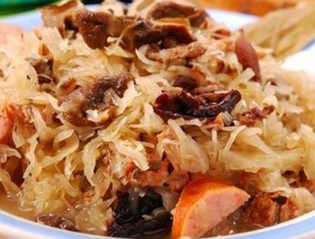 Рецепт тушеной капусты по-баварски