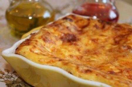 Рецепт лазаньи с грибами и луком- пореем