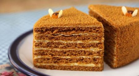 Рецепт торта медовый «Наполеон»
