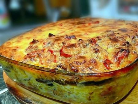 Рецепт - Овощная муссака