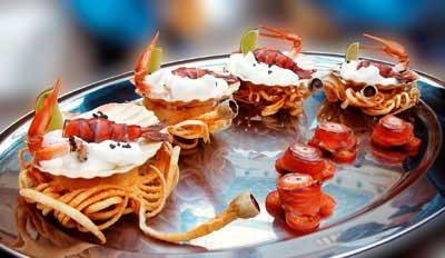 холодные закуски из морепродуктов рецепты с фото