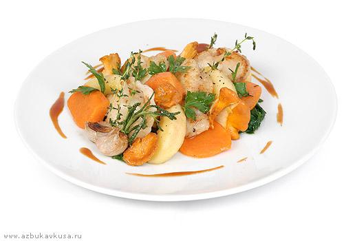 Рецепт филе трески с овощами в мультиварке рецепты