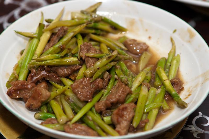 Салат со спаржей и мясом рецепт с фото
