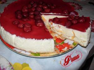 творожный торт-мороженное