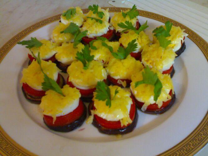 Рецепты с фото закуска из баклажан